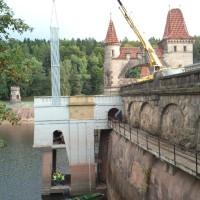 MVE Les Království - Čištění vtoku, dodávka a osazení česlí