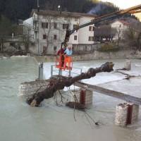 Itálie - čištění hrazení na MVE
