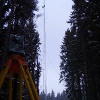 Švédsko – montáže stožárů pro vysílače