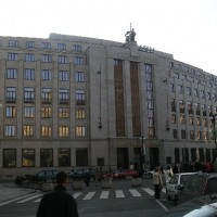 Na Příkopě 28, Praha 1 – kontrola spárování kamenného obkladu budovy ČNB